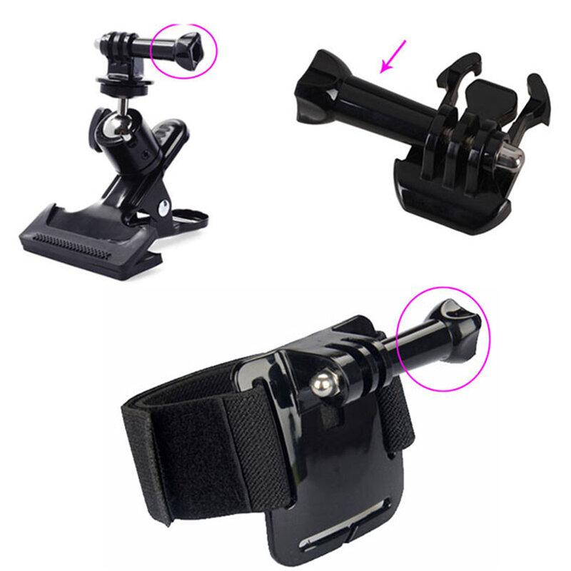Surub GoPro Universal Din Otel Inoxidabil Pentru Fixare Camere De Actiune 5.5cm - Negru