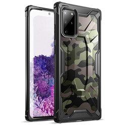 Husa Samsung Galaxy S20 Plus 5G Poetic Affinity Transparenta - Camuflaj