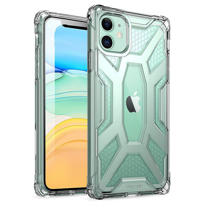 Husa iPhone 11 Poetic Affinity Transparenta - Clear