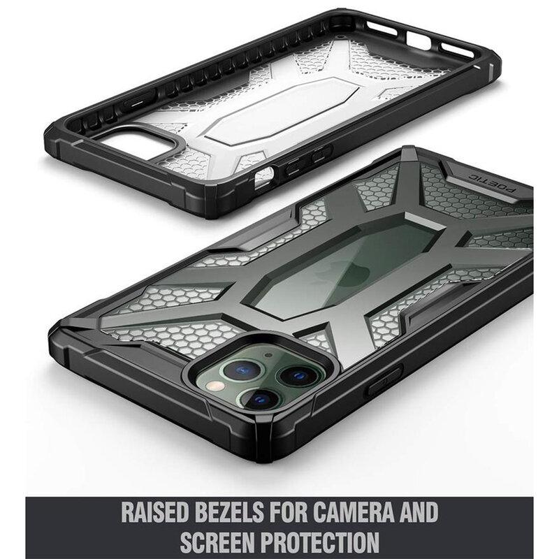 Husa iPhone 11 Pro Max Poetic Affinity Transparenta - Camuflaj