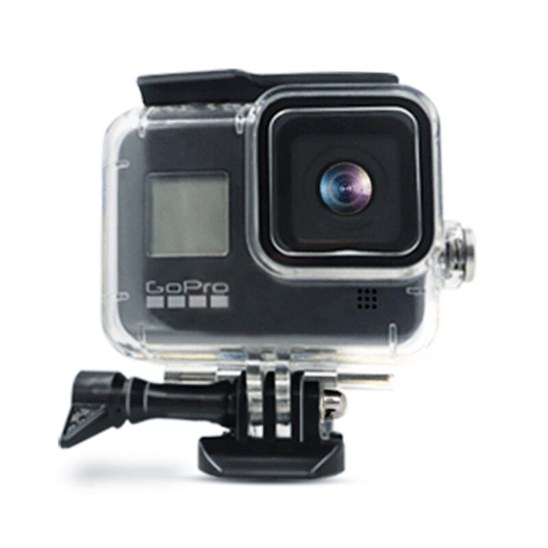 Carcasa Subacvatica GoPro Hero 8 Mobster Waterproof Case - Transparenta