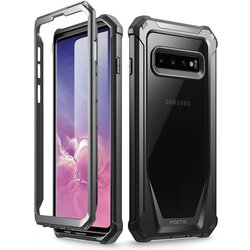 Husa Samsung Galaxy S10 Poetic Guardian + Bumper - Negru