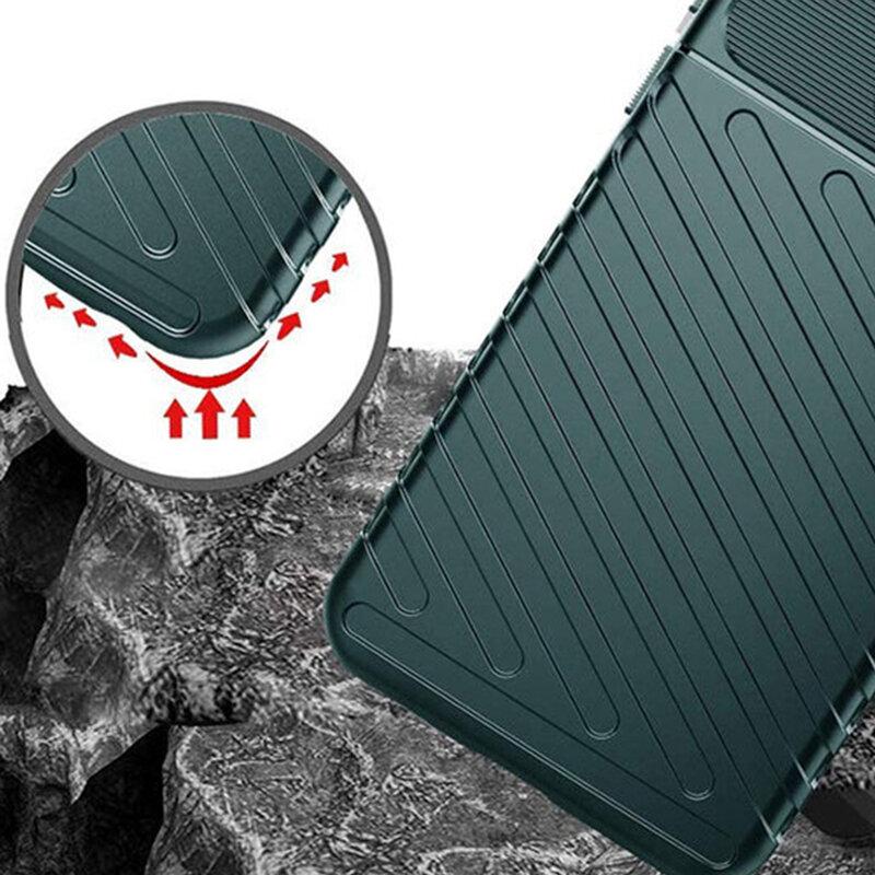 Husa Samsung Galaxy S20 Ultra 5G Thunder Flexible Tough TPU - Verde