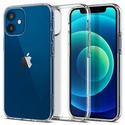 Husa iPhone 12 mini Spigen Liquid Crystal - Clear
