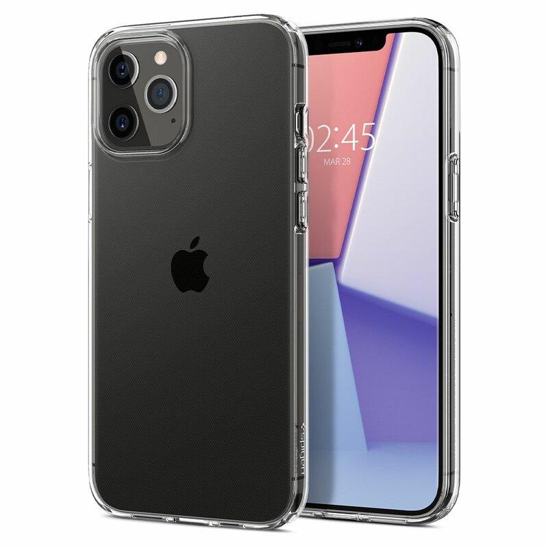 Husa iPhone 12 Pro Max Spigen Liquid Crystal - Clear