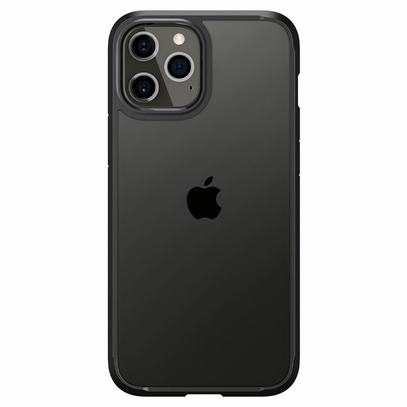 Husa iPhone 12 Pro Spigen Ultra Hybrid - Matte Black