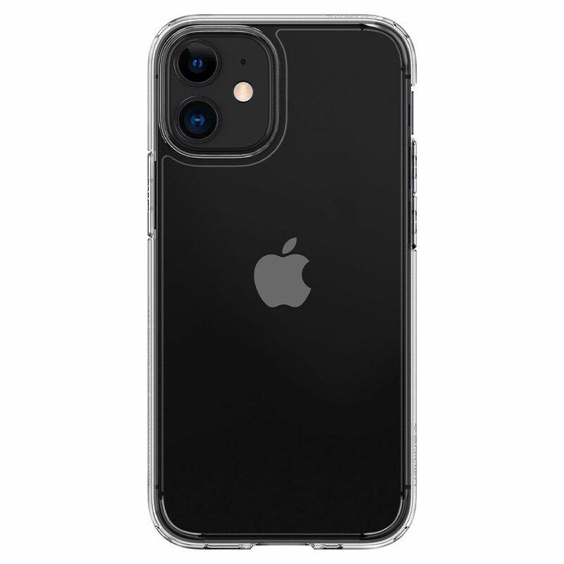 Husa iPhone 12 Spigen Ultra Hybrid - Crystal Clear
