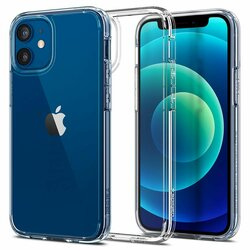 Husa iPhone 12 mini Spigen Ultra Hybrid - Crystal Clear