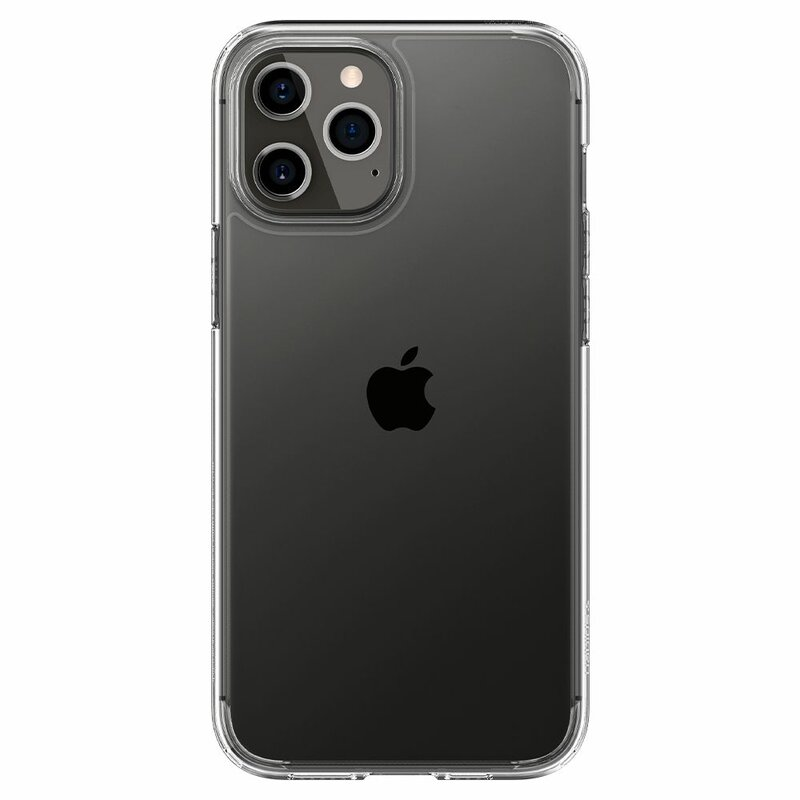 Husa iPhone 12 Pro Spigen Ultra Hybrid - Crystal Clear