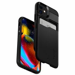 Husa iPhone 12 mini Spigen Slim Armor CS - Black