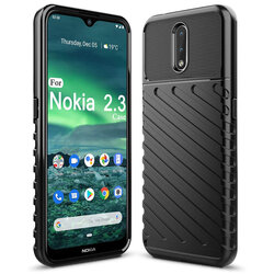 Husa Nokia 2.3 Thunder Flexible Tough TPU - Negru