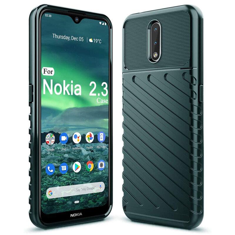 Husa Nokia 2.3 Thunder Flexible Tough TPU - Verde