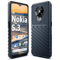Husa Nokia 5.3 Thunder Flexible Tough TPU - Albastru
