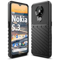 Husa Nokia 5.3 Thunder Flexible Tough TPU - Negru