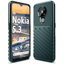 Husa Nokia 5.3 Thunder Flexible Tough TPU - Verde