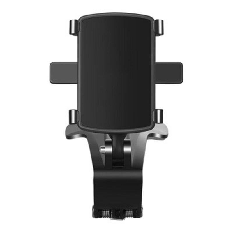 Suport Auto Telefon GO360 Pentru Bord / Parasolar / Oglinda Retrovizoare - YB20-3 - Negru