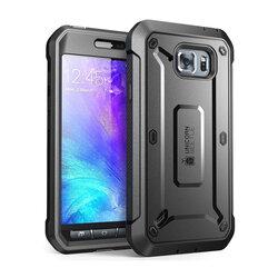 [Pachet 360°] Husa Samsung Galaxy S6 G920 Supcase Unicorn Beetle Pro + Folie Ecran - Black