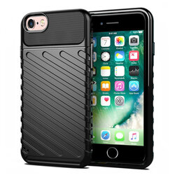 Husa iPhone 6 / 6S Thunder Flexible Tough TPU - Negru