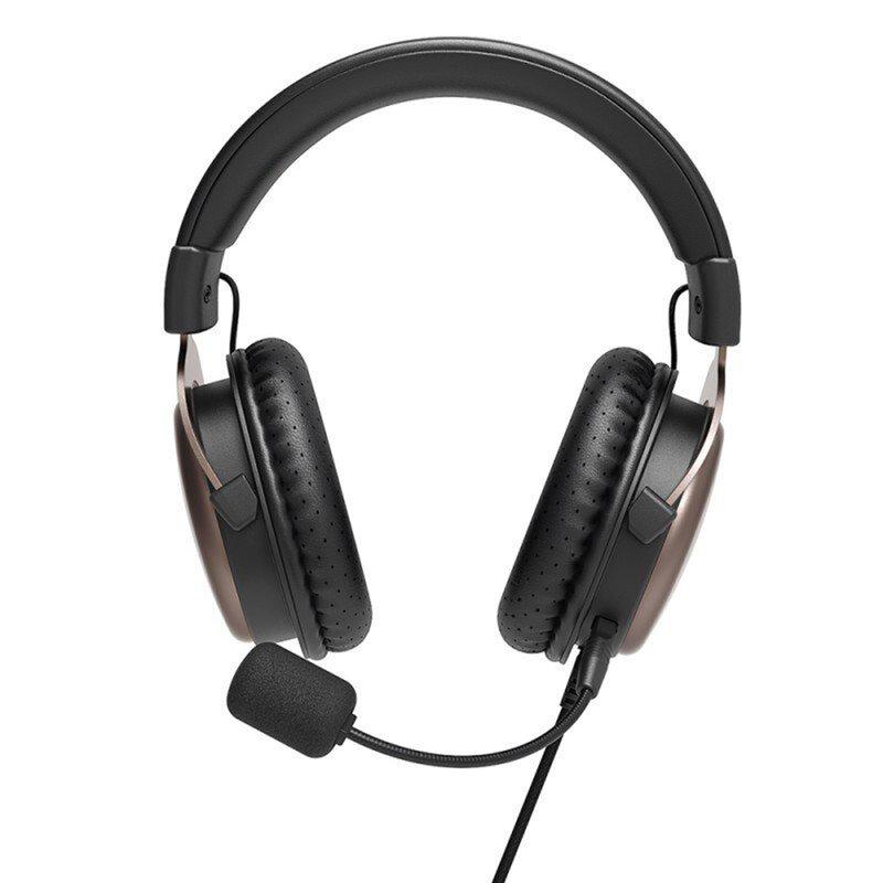 Casti On-Ear Pentru Gaming Tronsmart Sono Multiplatforma Cu Fir 2m - Negru