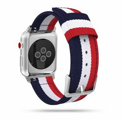 Curea Apple Watch 5 44mm Tech-Protect Welling - Navy/Red