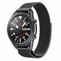Curea Samsung Galaxy Watch 3 45mm Tech-Protect Milaneseband - Negru
