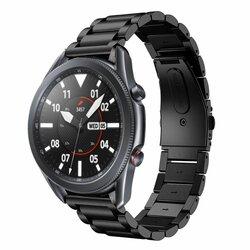 Curea Samsung Galaxy Watch 3 45mm Tech-Protect Stainless - Negru