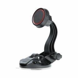 Suport Auto Magnetic Universal Pentru Telefon Cu Ventuza - Negru