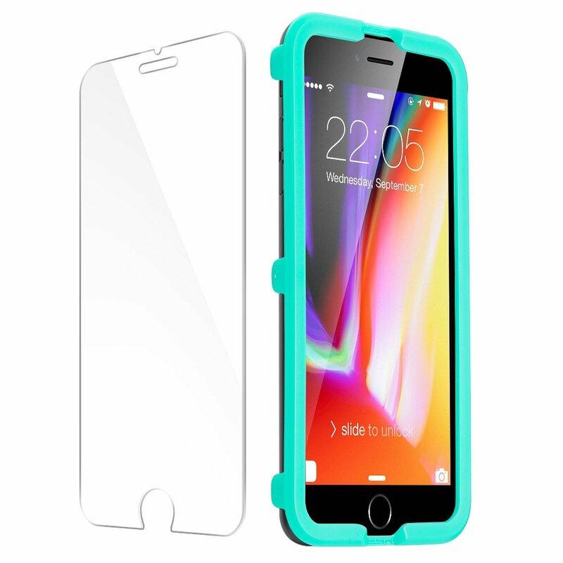 Folie Sticla iPhone SE 2, SE 2020 ESR Tempered Film 10KG 9H - Clear