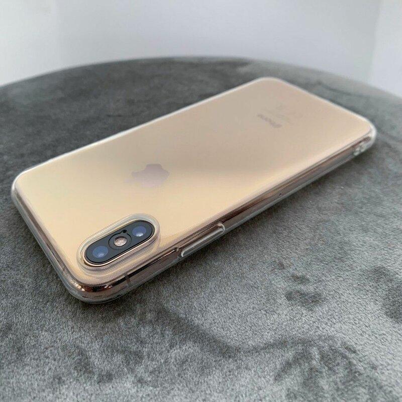 Husa iPhone XS Tech-Protect FlexAir - Crystal