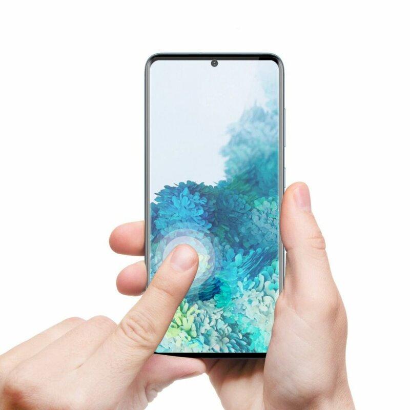 Folie iPhone 6 / 6S Hofi UltraFlex Glass Din Sticla Hibrida Flexibila 9H - Black