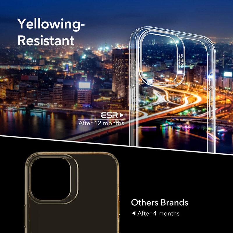 Husa iPhone 12 Pro Max ESR Project Zero Din Poliuretan Transparent - Clear