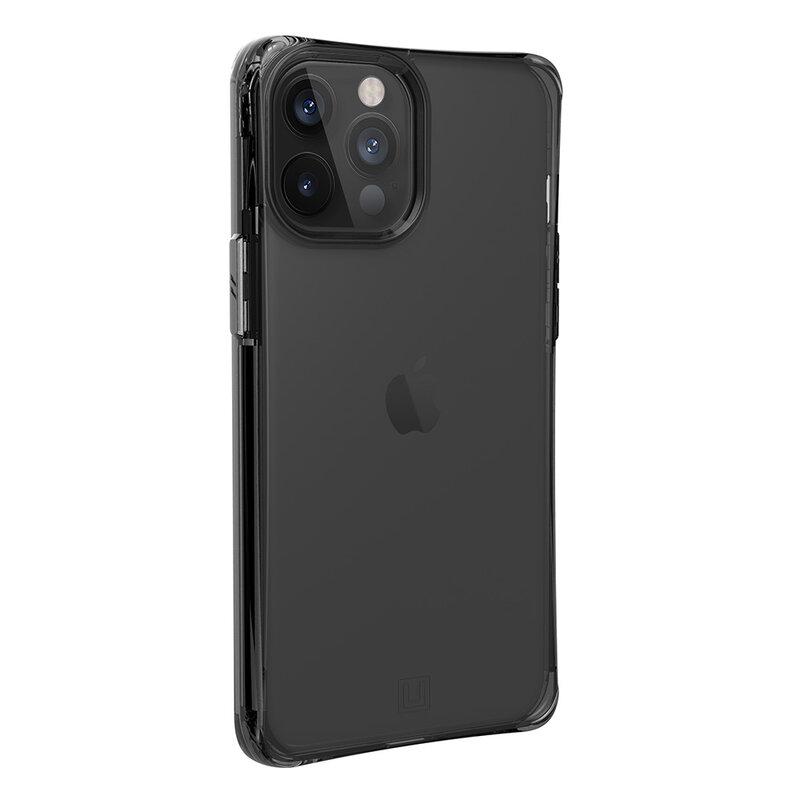 Husa iPhone 12 Pro Max UAG Mouve Transparenta - Cenusiu