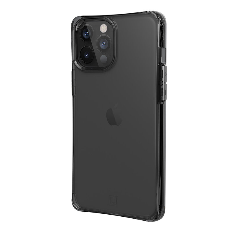 Husa iPhone 12 Pro UAG Mouve Transparenta - Cenusiu