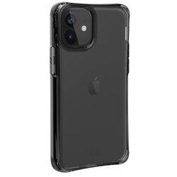 Husa iPhone 12 UAG Mouve Transparenta - Cenusiu