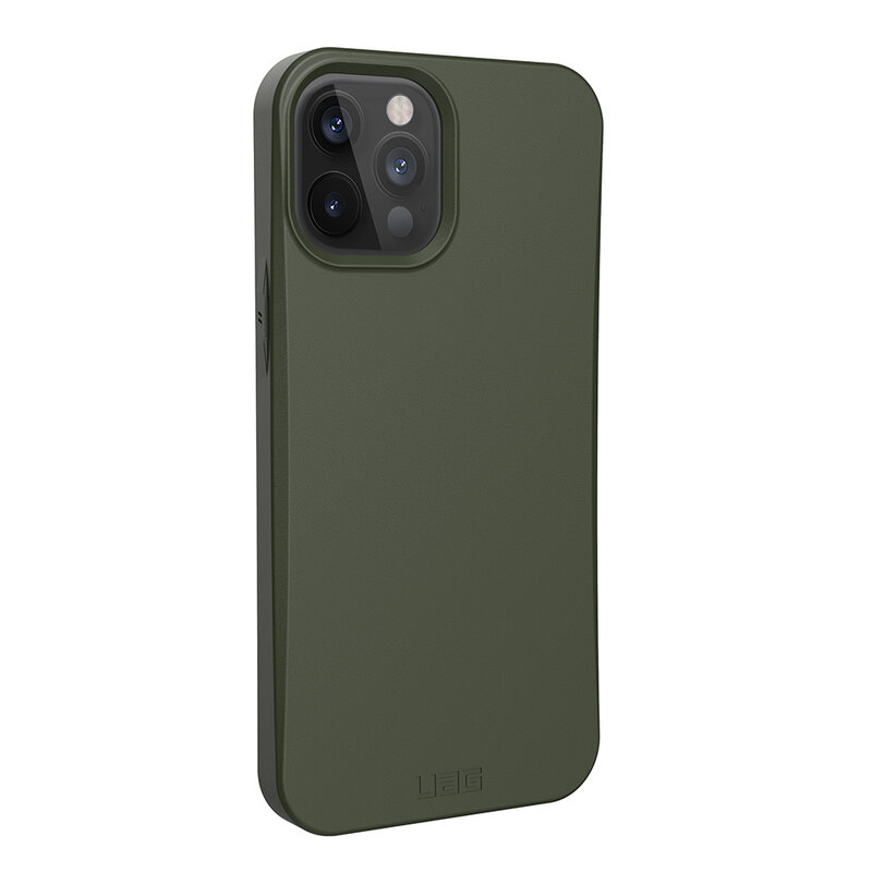 Husa iPhone 12 Pro Max UAG Outback Biodegradable - Olive