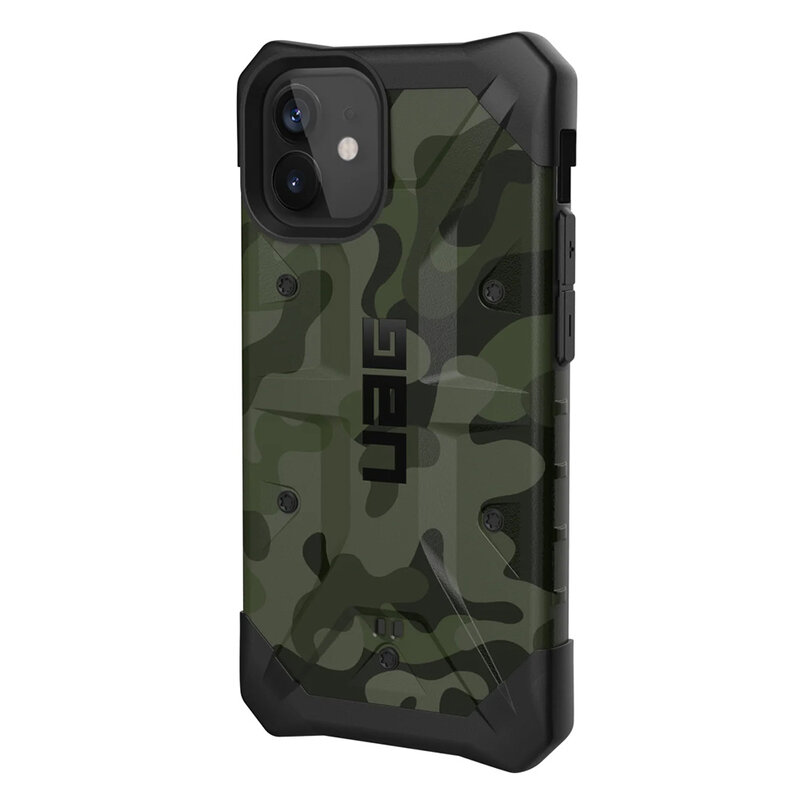 Husa iPhone 12 UAG Pathfinder Series - Forest Camo