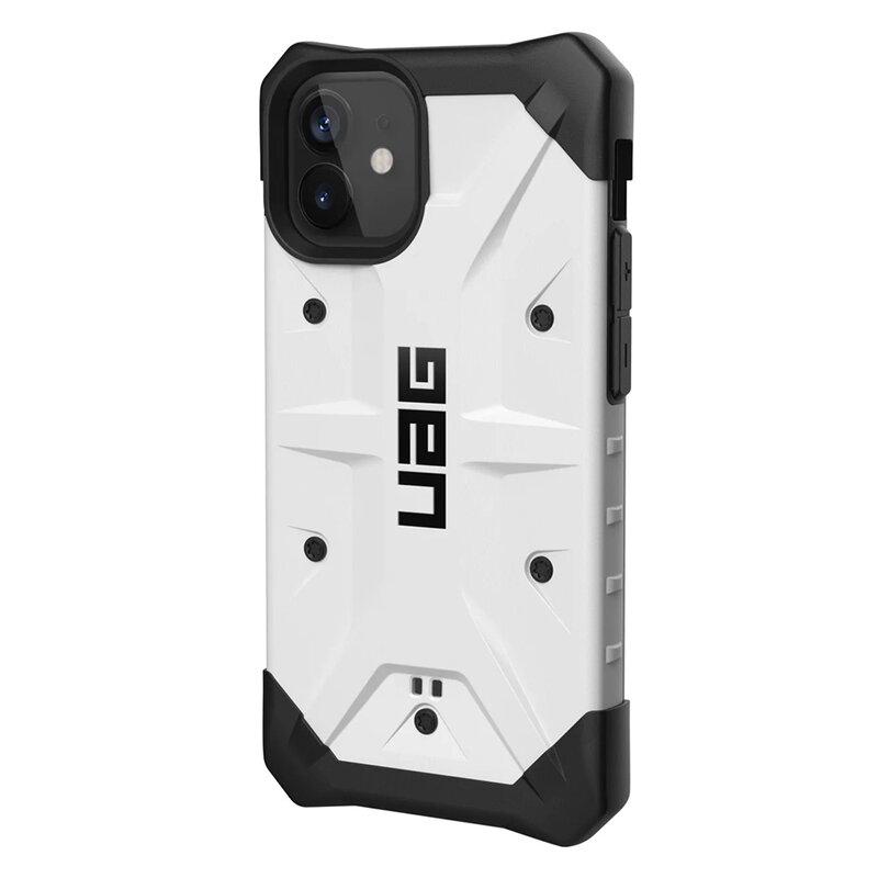 Husa iPhone 12 UAG Pathfinder Series - White