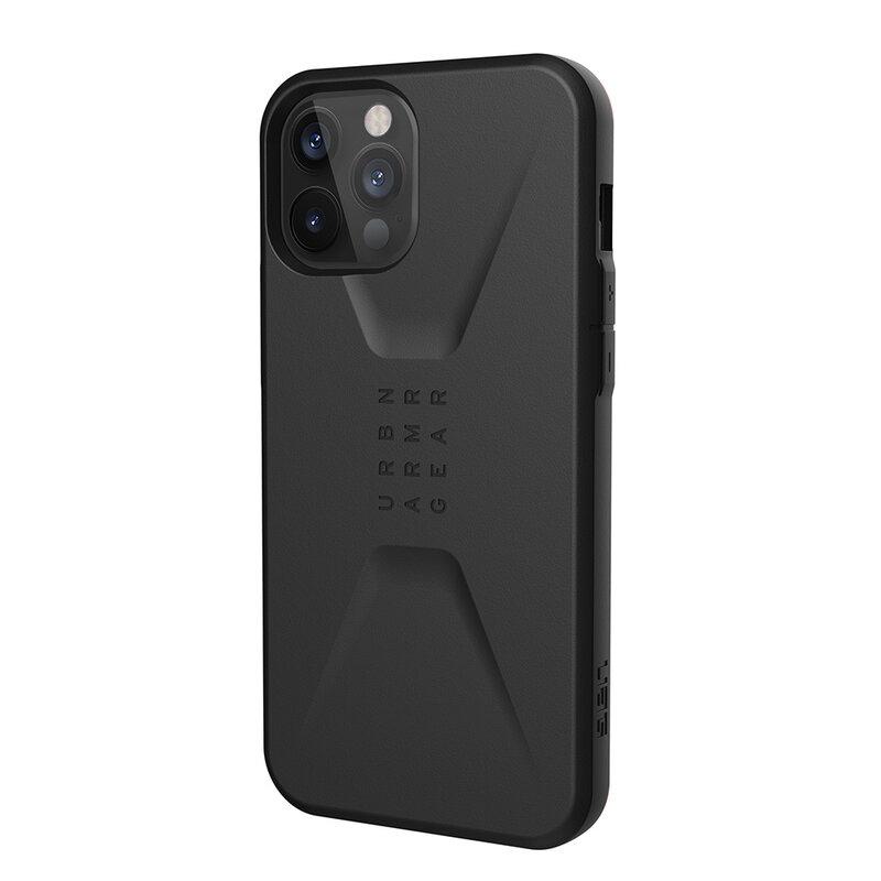 Husa iPhone 12 Pro Max UAG Civilian Series - Black
