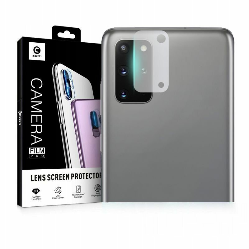 Folie Sticla Camera Samsung Galaxy S20 Plus Mocolo Back Lens 9H - Clear