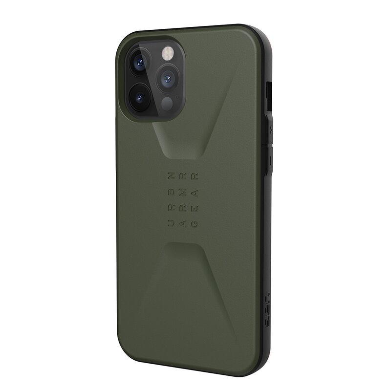 Husa iPhone 12 Pro Max UAG Civilian Series -  Olive Drab