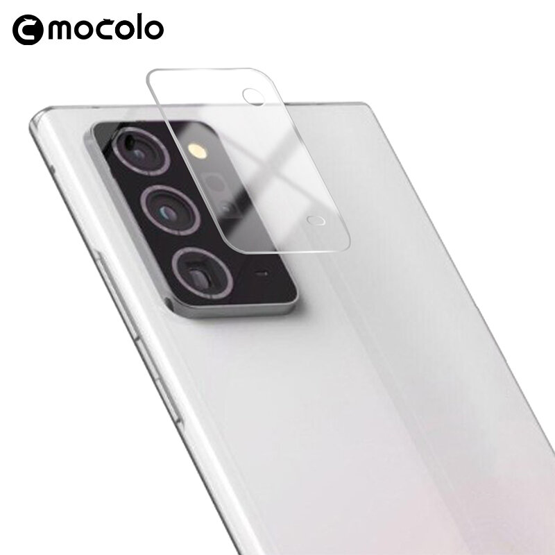 Folie Sticla Camera Samsung Galaxy S20 5G Mocolo Back Lens 9H - Clear