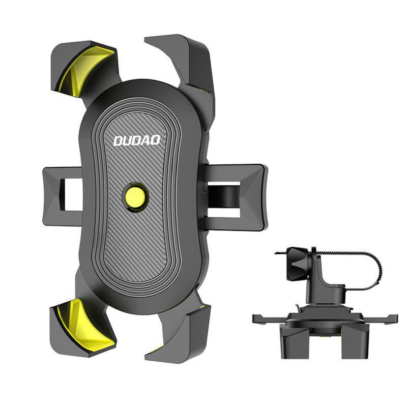 Suport Telefon Pentru Bicicleta Dudao F7H Universal Cu Prindere Pe Ghidon - Negru