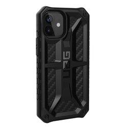 Husa iPhone 12 mini UAG Monarch Series - Carbon Fiber