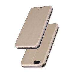 Husa iPhone 6 / 6S Flip Magnet Book Type - Gold