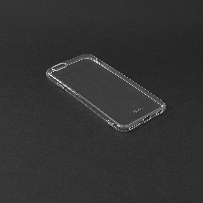 Husa iPhone 6 / 6S Roar Colorful Jelly Case - Transparent