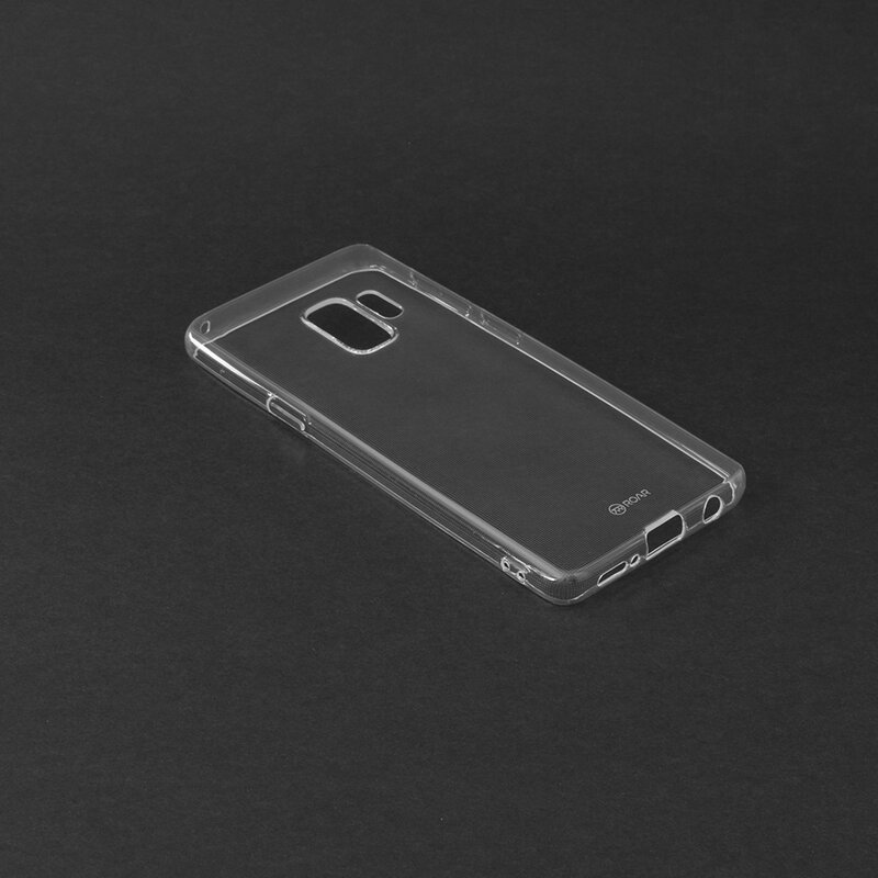 Husa Samsung Galaxy S9 Roar Colorful Jelly Case - Transparent
