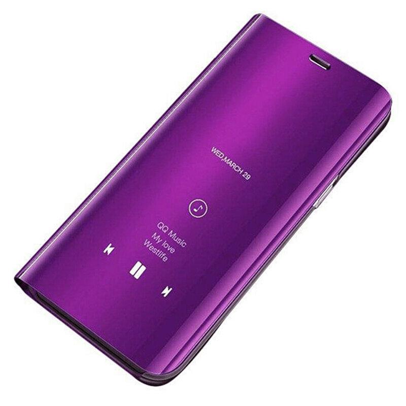 Husa iPhone 8 Flip Standing Cover - Purple