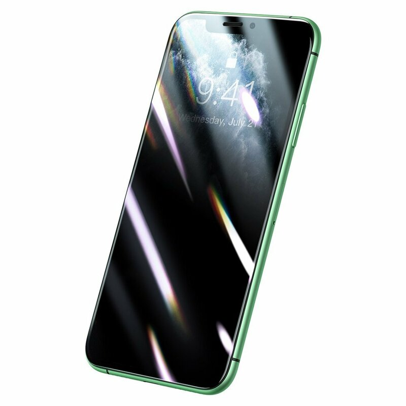 Folie Sticla iPhone 11 Baseus Privacy - SGAPIPH61S-HC01 - Negru