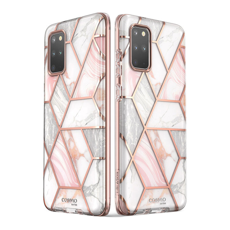 Husa Samsung Galaxy S20 Plus I-Blason Cosmo + Bumper - Marble