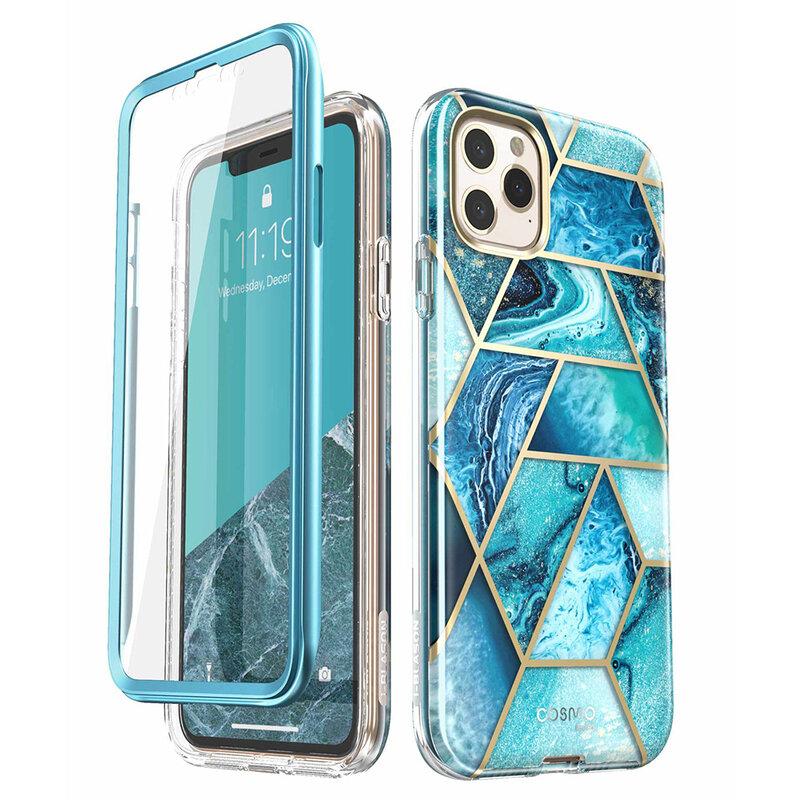 [Pachet 360°]Husa iPhone 11 Pro Max I-Blason Cosmo + Folie Ecran - Ocean